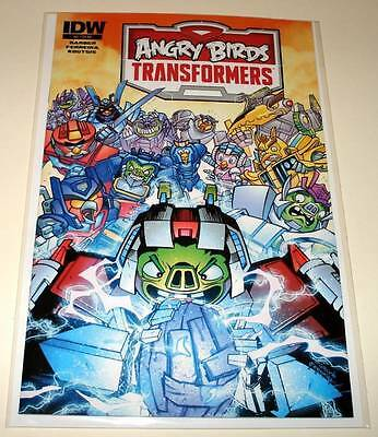 ANGRY BIRDS / TRANSFORMERS # 4 IDW Comic  Feb 2015   NM
