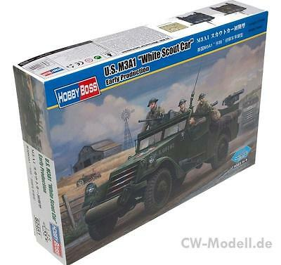 """HOBBYBOSS 82451 U.S. M3A1 White """"Scout Car"""" Early Version 1:35"""