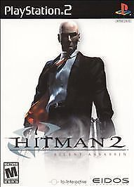 Hitman 2: Silent Assassin [Greatest Hits]  (Sony PlayStation 2, 2003) COMPLETE
