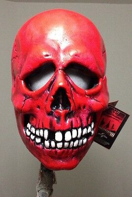 H3 Red Skull Season Of The Witch Mask Vermillion jason Myers Halloween Post Don
