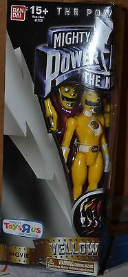 Mighty Morphin Power Rangers THE MOVIE 5 Inch Figures YELLOW RANGER NEW