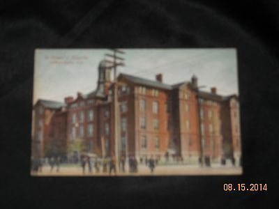 Antique Postcard St. Vincent's Hospital Indianapolis Indiana Circa 1910 Unposted