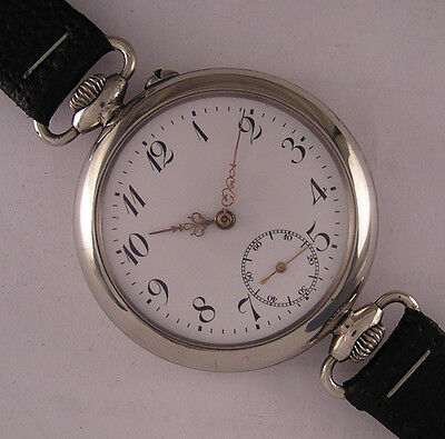 Early CYLINDRE '1900 Antique Swiss FANCY Wrist Watch Perfect Fully Serviced