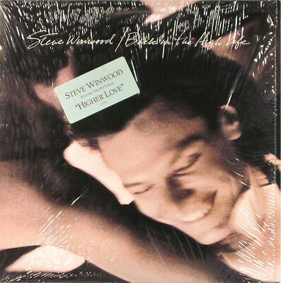 STEVE WINWOOD Back In The High Life SHRINK 1986 w/orig slv EX/EX LP Record