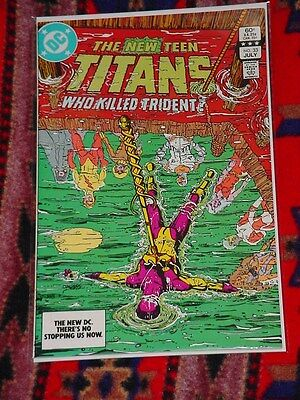 The New Teen Titans #33 July 1983 (Marv Wolfman and George Perez)