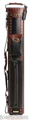 New Instroke 3x5 Inverted Leather Cowboy Case - Brown & Black - INSC35BRN/BK-RV