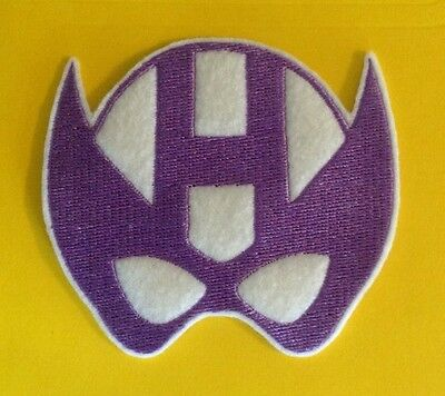 superhero Hawkeye embroidered patch applique