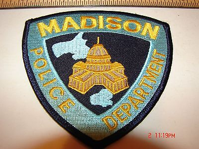 WI WISCONSIN POLICE SHERIFF PATCH LAW ENFORCEMENT MADISON POLICE DEPARTMENT