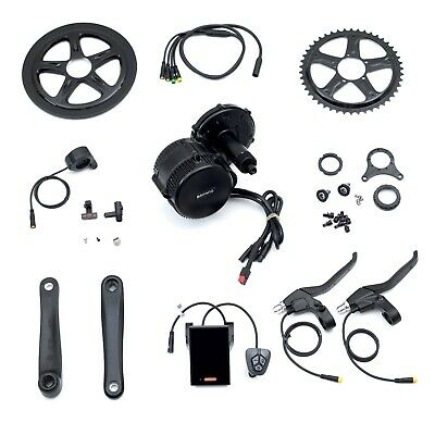 BBS02B 48v750w Bafang Mid Drive Conversion Kit Electric Bicycle Bike eBike