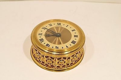 Vintage Swiss Made ArtDeco Le-Coultre Memovox 8 day Alarm Clock