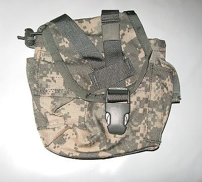 NEW US Army Military Surplus MOLLE II 1 Quart Canteen ACU General Purpose Pouch