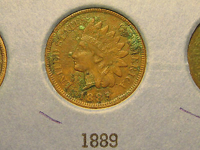 1889 Indian Head Cent                                                     (45th)