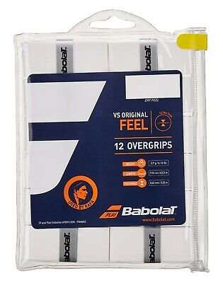 Babolat VS Original Overgrip 12 Pack - White