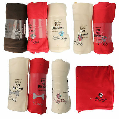 Pet Blanket Jumbo pet125065 by country club Retail price £4.99