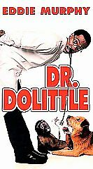 VHS DR DOLITTLE EDDIE MURPHY 1998  PG-13 FREE US SHIPPING
