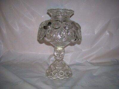 LE Smith  Moon & Star Clear 3 Piece candle lamp