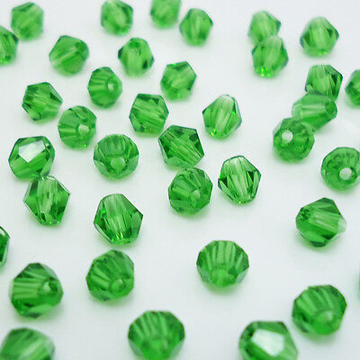 Free shipping jewelry 100pcs Swarovski  Crystal 4mm #5301 bicone beads  B:23