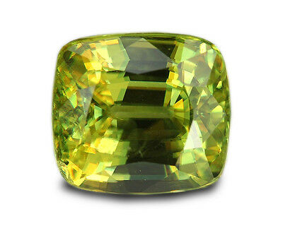 3.05 Carats Natural Madagascar Sphene Loose Gemstone - Cushion
