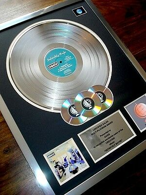 Oasis Definitely Maybe Lp Multi Platinum Disc Record Award Album