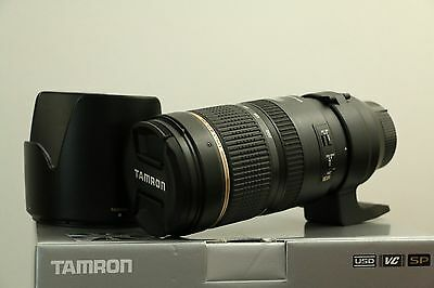Tamron SP A009 70-200 mm F/2.8 VC Di AF USD Lens For Nikon *like new*