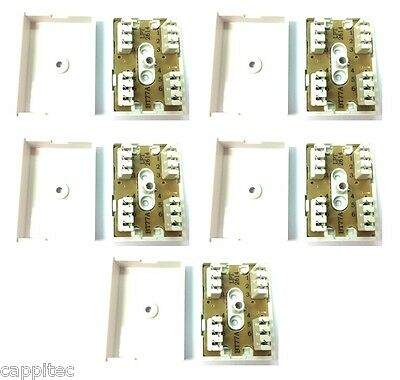Pack Of 5 Bt 77A 3 Pair Idc Junction Boxes For Telephone Cable Bt77A