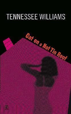 Cat on a Hot Tin Roof by Tennessee Williams (1958, Paperback)