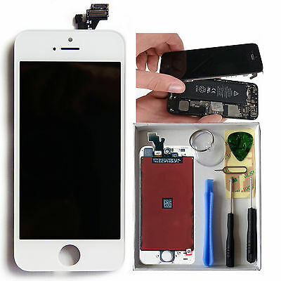 Replacement LCD Touch Screen Display Digitizer Assembly for iPhone 5 White OEM