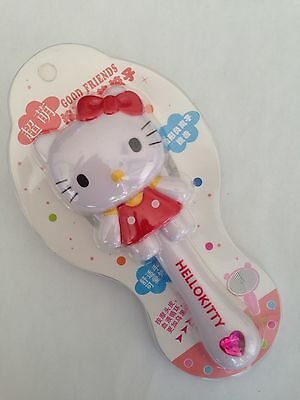Hello Kitty Die Cut Hairbrush/Comb Classic Red