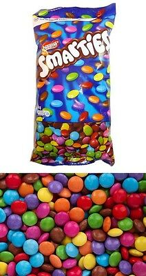 Nestle Smarties 1kg Bag Milk Chocolate Buffet Sweets Treats Kids Party Favors