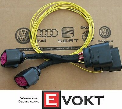 VW Golf 6 Adapter For Xenon Headlight Wiring Harness Cable R GTI Genuine New
