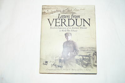 WW1 US Letters from Verdun Reference Book