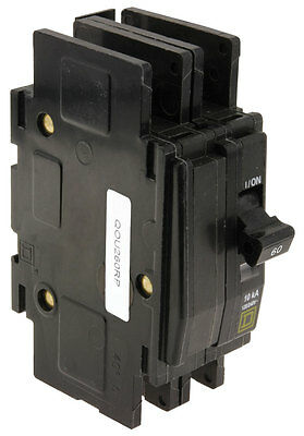 New Square D QOU260 2p 60a 120/240v Circuit Breaker