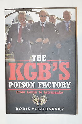 Soviet Russia Russian The KGB's Poison Factory Reference Book