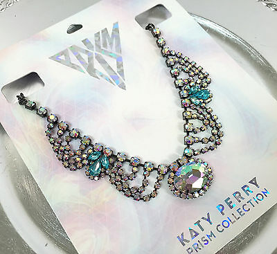 KATY PERRY CRYSTAL CHANDELIER IRIDESCENT STATEMENT NECKLACE - PRISM CLAIRE'S!