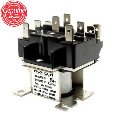 York Luxaire Coleman Furnace Relay 24 volt coil 024-11772-700 024-11772-000