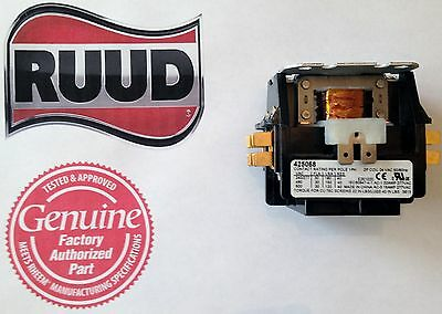 Universal Air Conditioner 24 volt Contactor Relay, Double 2 Pole