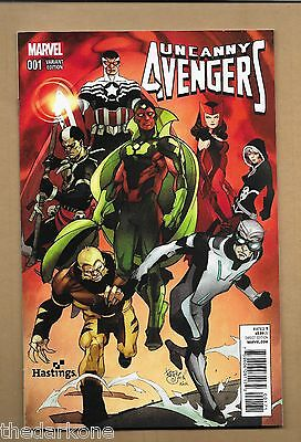 Uncanny Avengers  #1 Hastings Exclusive Variant Cover
