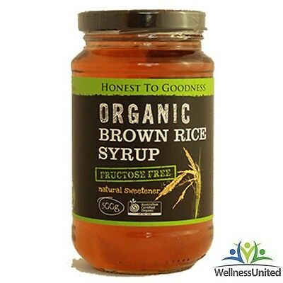 Organic Brown Rice Syrup 500g Fructose Free, FODMAP 🗸 Past Dated Still good