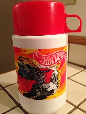 2000 Hot Wheels Thermos