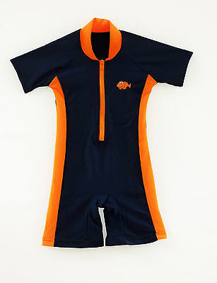 Boys Sunsafe Sun Suit/swimwear UV 50+ protective by Big Fisch 3 mths to 3 yrs