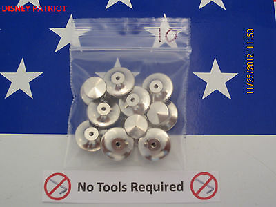 20 Locking Pin Back, keeper, saver.  USA seller since 2006,  Best Available!