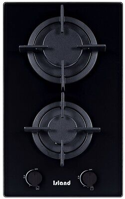 Island Sapphire 302, 30cm Built-in Ceramic Glass Domino Gas Hob with FFD