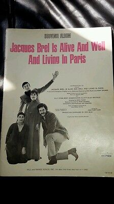 Jacques Brel is alive and well Souvenir Album