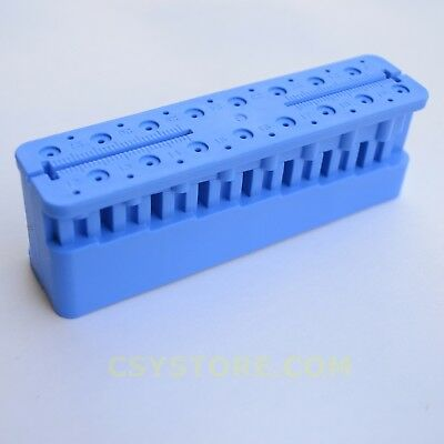 Endo Endodontic File Holder and Measuring Block