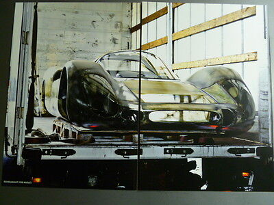 Porsche 906 Coupe Showroom Advertising Sales 2 Poster Set RARE!! Awesome L@@K