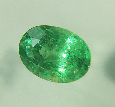 natural GARNET TSAVORITE faceted oval 0,92 cts - Saphirboutique GERMANY
