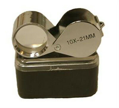 Chrome Body Loupe Magnifier