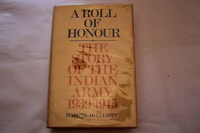 Indian Army 1939-1945 Roll of Honour Reference Book