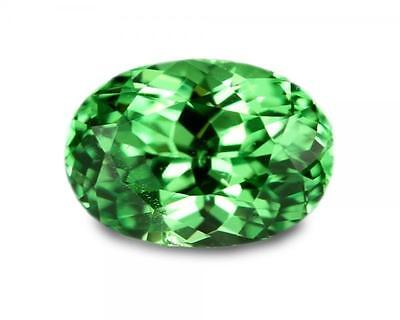 1.29 Carats Natural Merelani Mint Garnet Gemstone - Oval