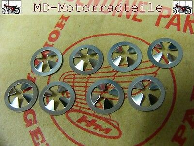Honda CB 750 Four K0 K1 K2  Clip Set für Seitendeckelembleme  Nut, speed Set